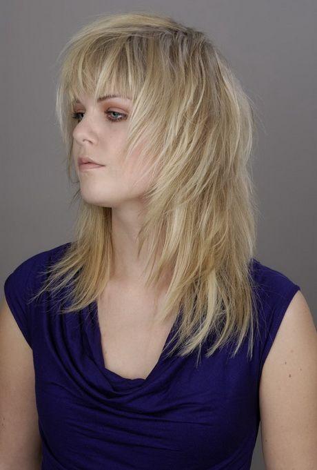 Gestufte Frisuren Mittellang Haarschnitt Frisuren Schulterlang Lange Haare
