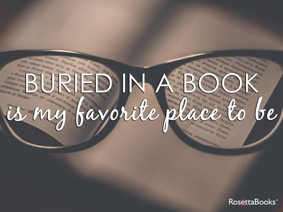 Buried in books all day every day!:
