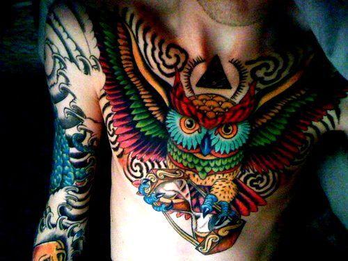 Whoa. REALLY want an owl tattoo!!!! x 100000