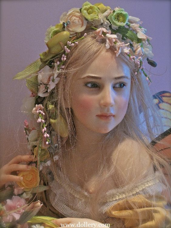 Beautiful fairy dolls by Jaimie Williamson..