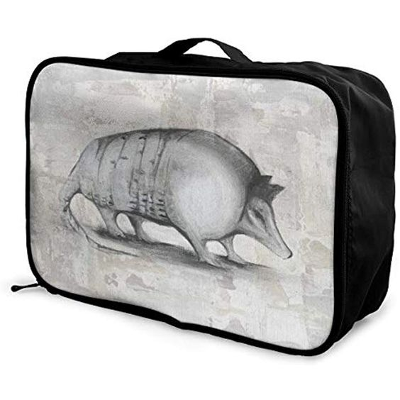 Travel Luggage Duffle Bag Lightweight Portable Handbag Animals Tiger Print Large Capacity Waterproof Foldable Storage Tote