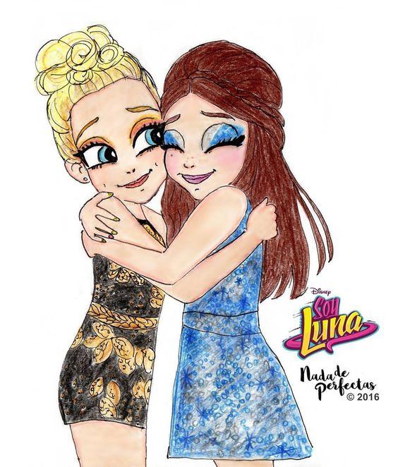 Uno de mis momentos favoritos del último episodio de la primer temporada de Soy Luna  El abrazo de Ámbar (@valentinazenere) y Luna (@karolsevillaofc)  Soy Luna es una de mis series Disney Channel favoritas, muchas gracias a todos los que...