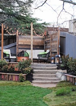 California Cozy Backyard transitional-patio