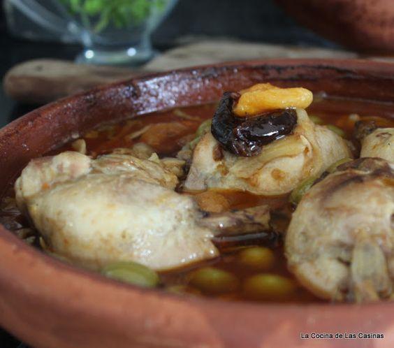 La Cocina de las Casinas: Tagine de Pollo Asturiano con Curry Rojo Tailandés...