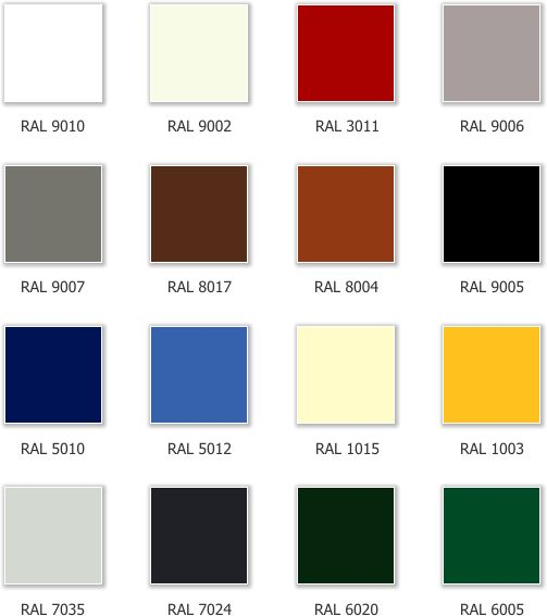 Ral 9010 Of Witter 9006 7023 100 Kleur Color Pinterest