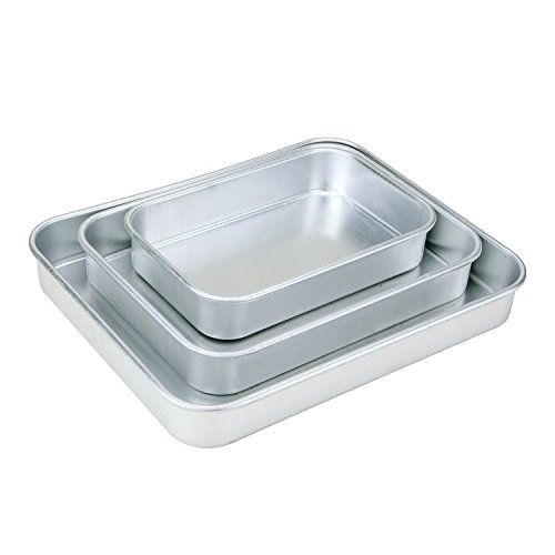 3 Piece Aluminum Oven Baking Tray Set Want To Know More Click