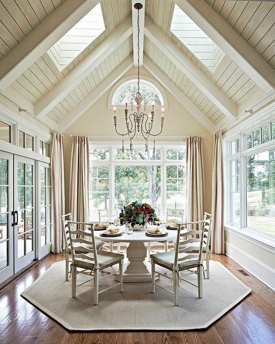 Sunroom Dining Room: Pinterest • The World's Catalog Of Ideas