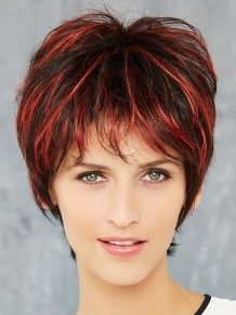 Cosmo Stromboli #wigs #pruiken #rood #Peruca #ReadytoWear  #GiselaMayer
