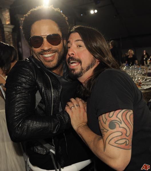 Lenny Kravitz & Dave Grohl