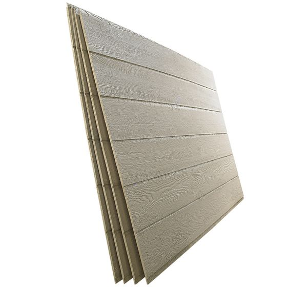 Shop Smartside 38 Series Beige Engineered Treated Wood