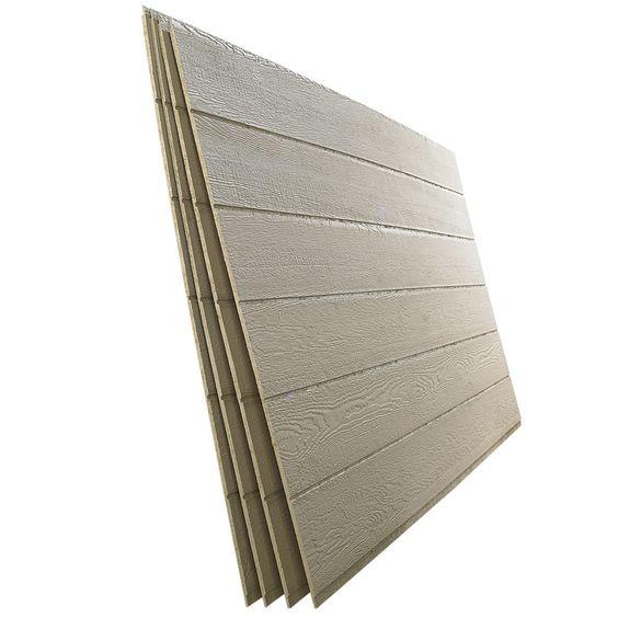 Shop smartside 38 series beige engineered treated wood for Engineered wood siding panels