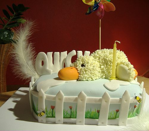 Funny Cakes For Baby Shower