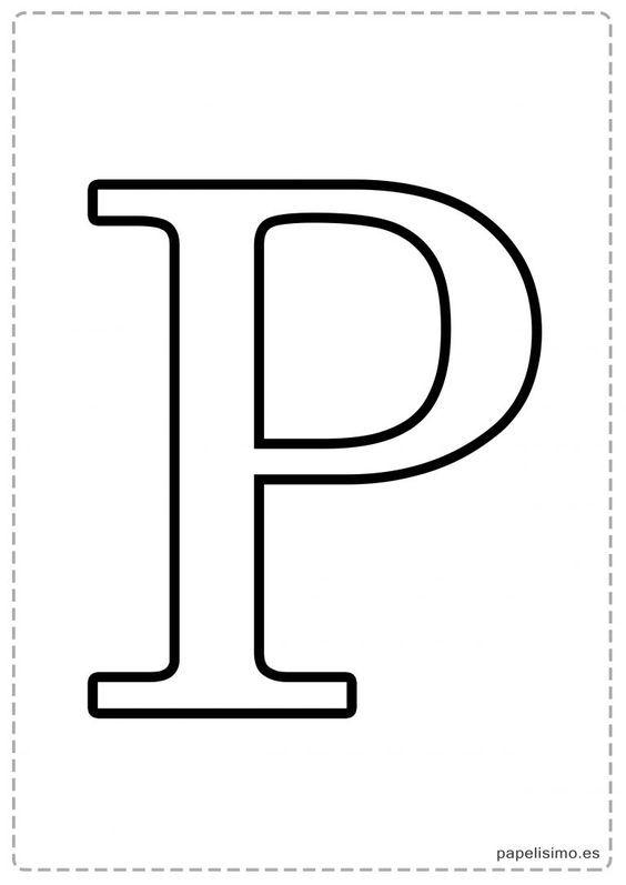 Letras Grandes Para Imprimir Com Imagens Letras Do Alfabeto