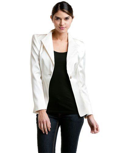 ESCADA 'Bado' Off-White Blazer