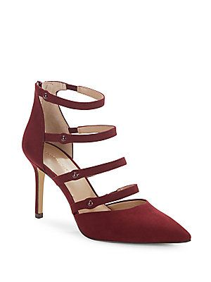 Saks Fifth Avenue Baines Strappy Pumps: