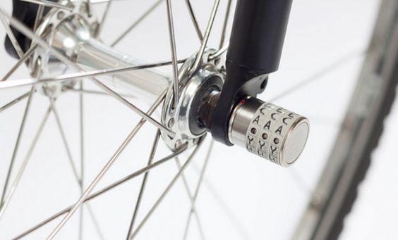 BLOG DECO DESIGNSphyke lock nut, un cadenas antivol de roue pour vélo par - BLOG DECO DESIGN