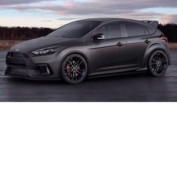 """""""Yo @FordPerformance, take note of this 2016 Focus RS fan mockup! Ha. This one…"""