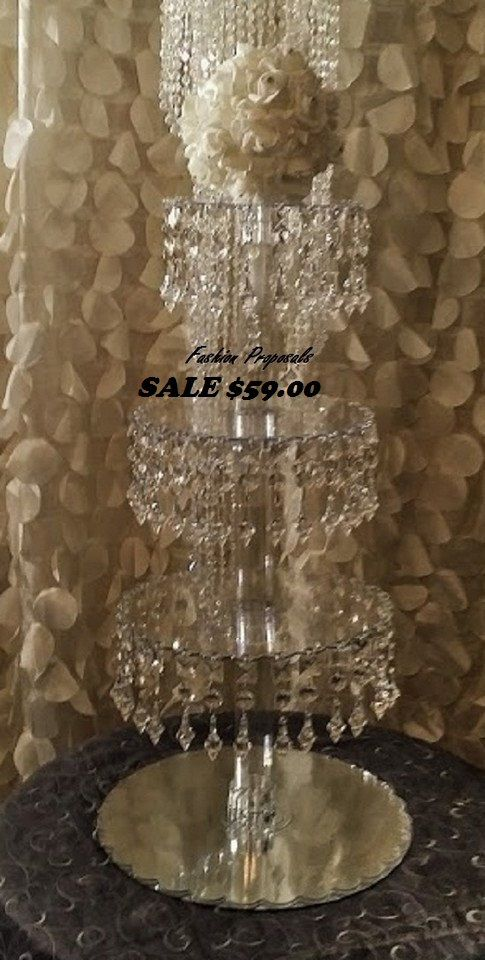 Sale Bling Cupcake Tower 4 tiers. Cupcake by FashionProposals, $59.00