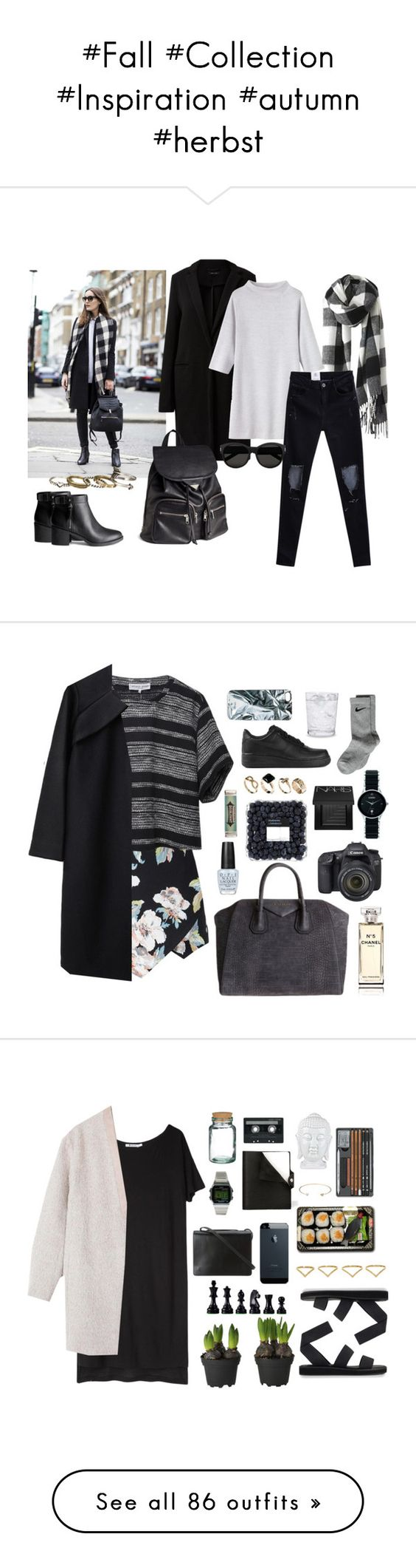 """""""#Fall #Collection #Inspiration #autumn #herbst"""" by itsmytimetoshinecoco ❤ liked on Polyvore featuring Toast, H&M, Yves Saint Laurent, maurices, Apiece Apart, A Détacher, Givenchy, Eos, OPI and NIKE"""