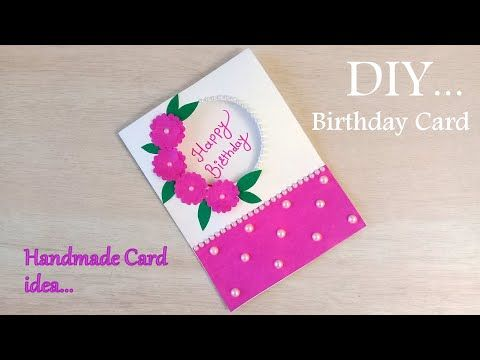 How To Make Birthday Special Card Diy Birthday Greeting Card Idea Diybirthdaycard Card Making Birthday Handmade Birthday Cards Beautiful Birthday Cards