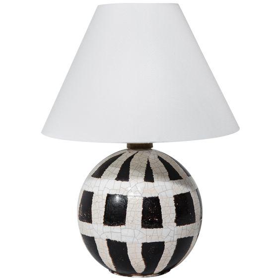 1stdibs.com | Ceramic Table Lamp by Jean Besnard:
