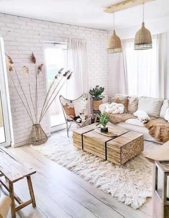 Rustic Boho Living Room Inspiration