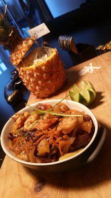 Crevettes Teriyaki revisitées à l'ananas - #2.