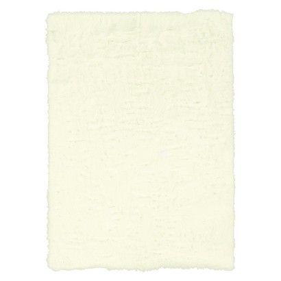 Faux Sheepskin Rug - White