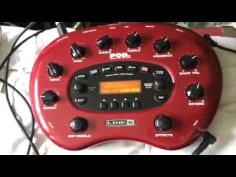 Line 6 Pod Xt Eruption Sound Real Van Halen Pods Eddie Van Halen