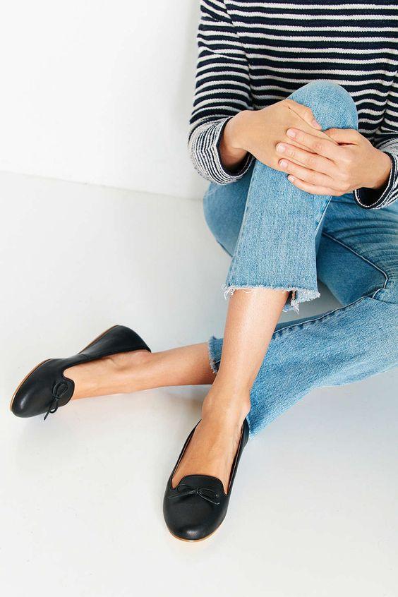 Tillie Smoking Slipper Flat - Urban Outfitters:
