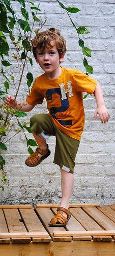 Short voor jongens van T-shirts