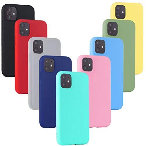 XinYue 9X Coque iPhone 11 Étui Silicone Ultra Mince Coque de ...