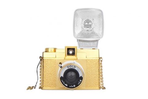 Diana F+ Gold Edition. I'm hoping to be snapping pictures with this pretty lady.