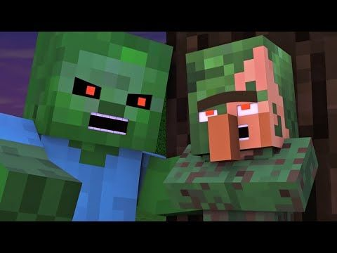 Villager Witch Life 5 Alien Being Minecraft Animation Youtube Minecraft Pictures Monster School Animation