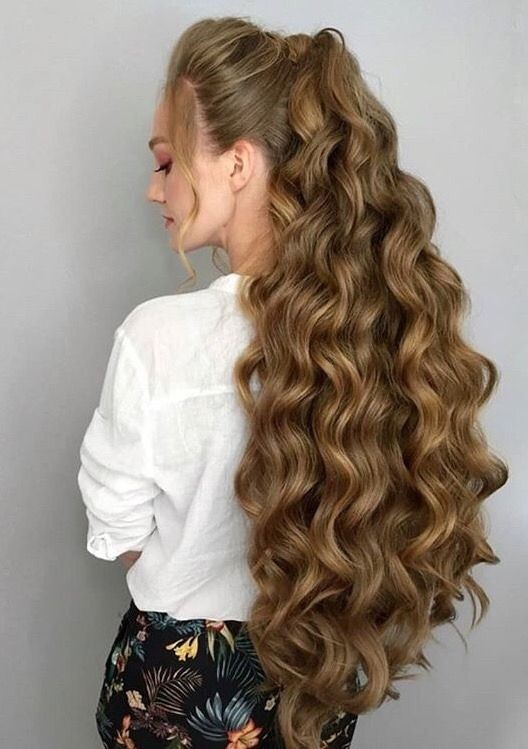 Longhair Styling Ideas Long Hair Girl Long Hair Styles Hair
