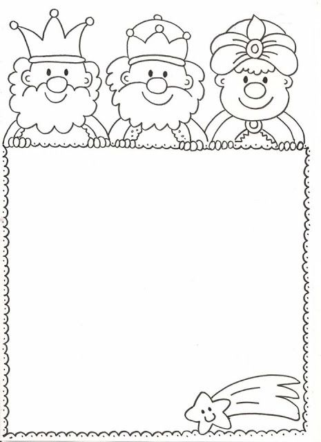 Tu Tarea Carta Para Los Reyes Cartas Reyes Magos Carta A Los Reyes Dibujo Navidad Para Colorear
