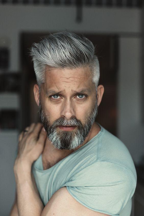 Mens Haircuts 2020 Grey Hair Men Haircuts For Men