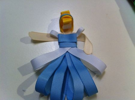 ribbon princess tutorial
