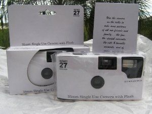 Disposable Cameras purchased - 5 ct