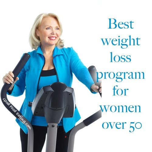 how does a 55 year old woman lose weight