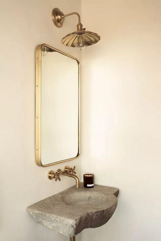 カッパー コッパー 銅 トイレ コーディネート例