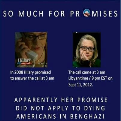 ...and yet people are considering her for president. Liberal media is trying its hardest to make us all forget Benghazi.