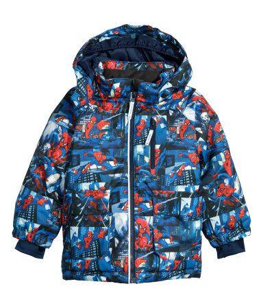 Spiderman Winter Coat Down Jacket Men Pinterest