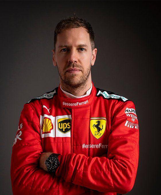 Sebastian Vettel 5 Sebvettelnews Twitter Ferrari Scuderia F1 Drivers Formula 1