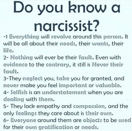 Dating en narcissist citat