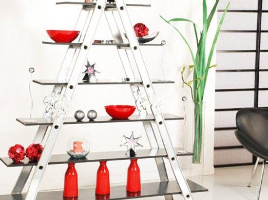 Cómo Hacer una Estantería Escalera en Casa