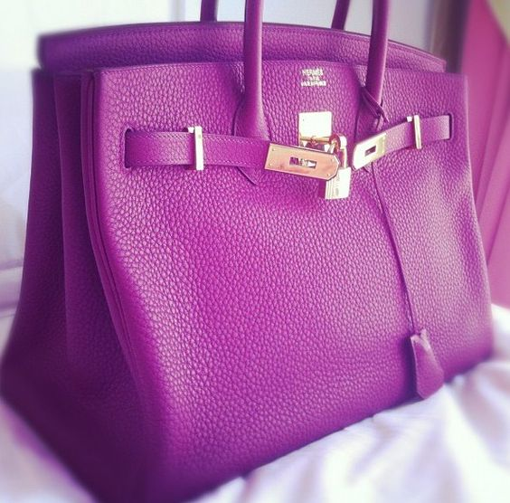 Hermes birkin bag... That would be the day when I could afford one of these!