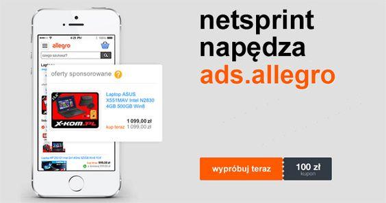 Ads Allegro Reklamy Na Allegro Pl Z Technologia Netsprinta Ads Digital Marketing Solutions