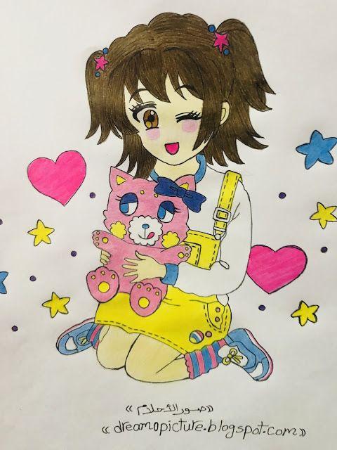 رسم بنوتات انمى كيوت Art Anime Blog Posts