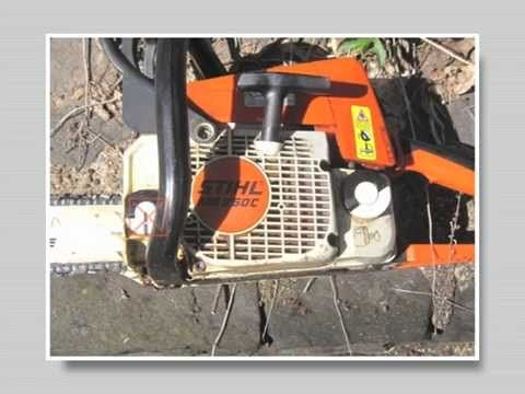 How To Start The Stihl Ms 250 Chainsaw Youtube Stihl Chainsaw Diy Guide